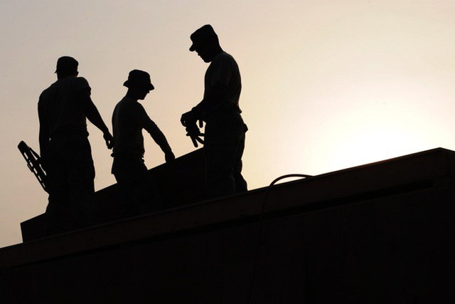 Ouvriers du bâtiments