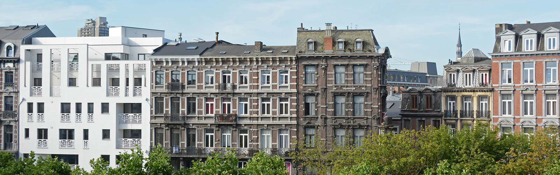 Rue Léopold - Dent creuse comblée